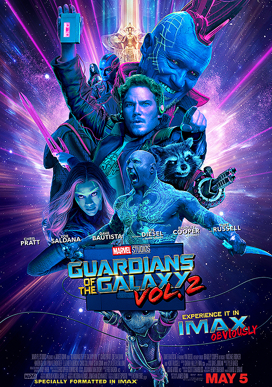 GUARDIANS OF THE GALAXY 2.